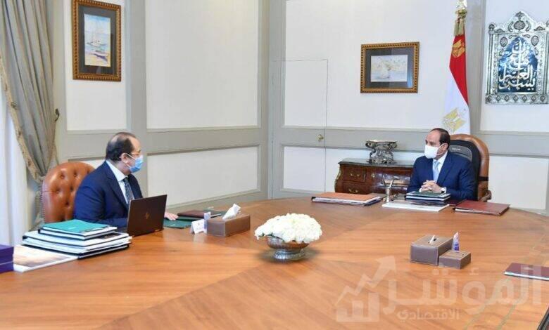 اجتماع الرئيس عبد الفتاح السيسي مع رئيس المخابرات العامة