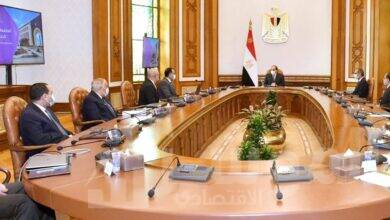 صورة الرئيس السيسي يستعرض محاور الخطة التنفيذية لانتقال الجهات الحكومية للعاصمة الإدارية الجديدة
