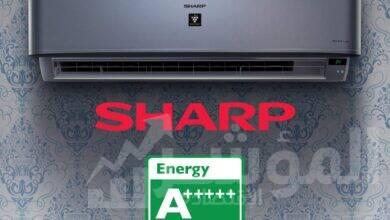 صورة تكييف شارب +++++ A تكنولوجيا يابانية فائقة والأعلى كفاءة في توفير الكهرباء
