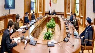 """صورة متابعة المشروع القومي """"مستقبل مصر"""" والذي يهدف إلى زيادة الرقعة الزراعية"""