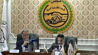 صورة تأسيس الجهاز العربي للتسويق برئاسة اشرف رشاد الشريف