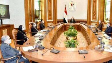 صورة السيسي يتابع المشروع القومي لتصنيع السيارات الكهربائية في مصر