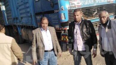 صورة محافظ أسيوط: ضبط سيارة محملة بـ 70 طن قمح مستورد قبل تهريبها خارج المحافظة