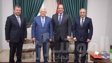 """صورة رئيس المخابرات العامة يزور رام الله وينقل رسالة من الرئيس """" السيسى """"  لـ """"أبو مازن"""""""