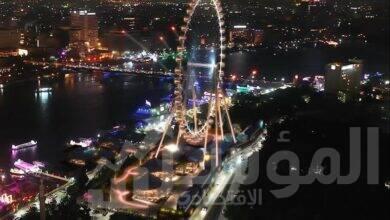 """صورة إنشاء """"عين القاهرة"""" كأكبر عجلة ترفيهية وسياحية في أفريقيا على ارتفاع ١٢٠ متر"""