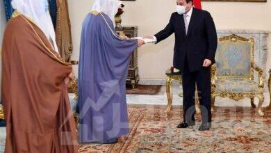 """صورة """" السيسي """" يؤكد على ثوابت السياسة المصرية لتحقيق التعاون والبناء ودعم التضامن العربي"""