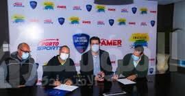 صورة افتتاح أكاديمية Coachium لنشاط التنس في نادي بورتو الرياضي بـبورسعيد