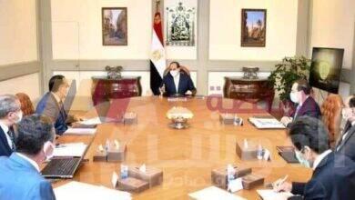 """صورة """" السيسي """" يستعرض مخطط إنشاء مدينة متكاملة لصناعة وتجارة الذهب في مصر"""