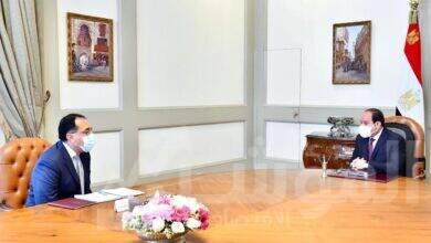 صورة الرئيس يوجه  الحكومة بزيادة الاعتماد على التصنيع المحلي من خلال الشركات والمصانع الوطنية