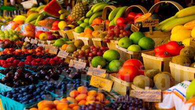 صورة القابضة للصناعات الغذائية :تخفيضات بأسعار الخضر والفاكهة بالمجمعات الاستهلاكية تصل الي 20%