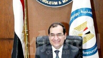 صورة وزير البترول فى زيارة لرام الله واسرائيل
