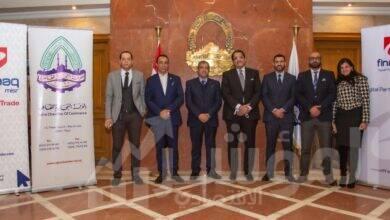 """صورة برتوكول تعاون بين """"الغرفة التجارية بالقاهرة"""" و""""إي أسواق مصر"""""""