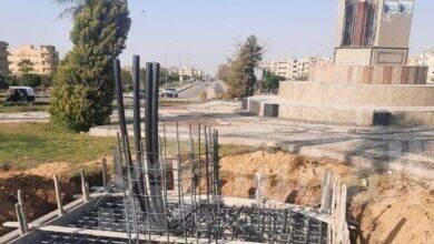 """صورة رئيس جهاز مدينة بدر: بدء تنفيذ أبراج كهرباء الـ""""هاي ماست"""" وتركيب قطع مضيئة بالميادين الرئيسية بالمدينة"""