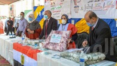 صورة وزيرة الهجرة تشكر مؤسسة «ملتقى شباب الخير» لمصريين بالكويت لدعمهم حي الأسمرات