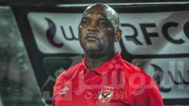 صورة موسيمانى يعاين ملعب مباراة الأهلى وسيمبا التنزانى