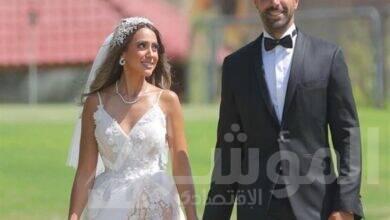 """صورة عبر """"انستجرام """" هند عبد الحليم تحتفل مع زوجها بعيد الحب"""