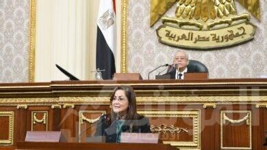 صورة وزيرة التخطيط والتنمية الاقتصادية تلقي بيانها عن أداء الوزارة أمام مجلس النواب