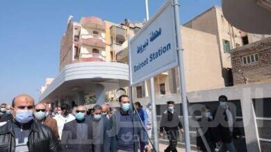صورة وزير النقل يشهد افتتاح ودخول برج إشارات ديروط الخدمة والمنطقة الاوتوماتيكية