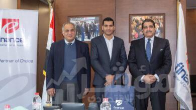 """صورة """"إي فاينانس"""" تهدي """"آيفون 12"""" للمشترك رقم مليون على منصة مصر الرقمية"""