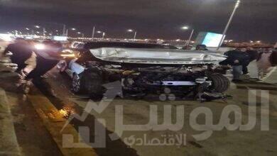 صورة إصابة عمرو أديب في حادث مروري بأكتوبر .. وشقيقه عماد : يارب حمدك وشكرك المهم ان نطمأن