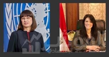 صورة وزيرة التعاون الدولي تلتقي المنسق الجديد للأمم المتحدة لمناقشة التعاون المستقبلي بين مصر والمنظمة الدولية