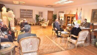 صورة محافظ أسيوط يترأس لقاء مناقشة مشروع تحديث المخططات الاستراتيجية العامة