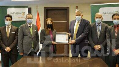 صورة الأهلي المصري يحتفظ للعام الثامن على التوالي بشهادة التوافق مع معاییر متطلبات هيئتي الفيزا والماستر كارد العالمیة PCI DSS