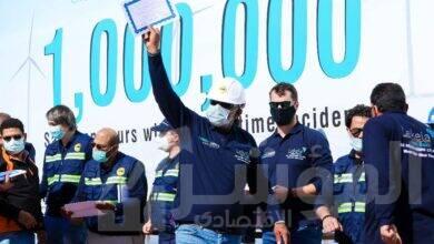 صورة ليكيلا تحتفل بمليون ساعة عمل دون إصاباتفي مشروع غرب بكر لطاقة الرياح