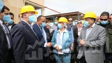 """صورة وزيرا """"البيئة"""" و""""التنمية المحلية"""" يفتتحان خلية الدفن الجديدة بمركز الناصرية للمخلفات الخطرة بالإسكندرية"""