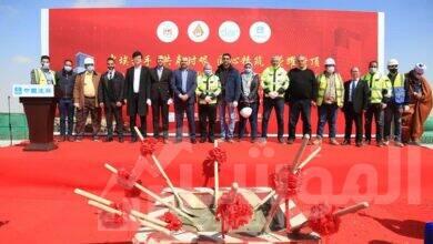 صورة الجزار :الانتهاء من الأعمال الخرسانية لأعلى ناطحة سحاب بنشاط إداري فى مصر بارتفاع 170 متراً