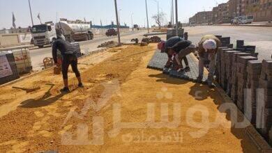 صورة رئيس الجهاز: تكثيف أعمال تطوير الطرق والمحاور الرئيسية بالتجمع الأول بالقاهرة الجديدة