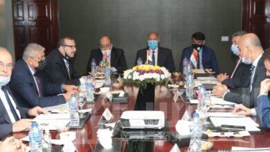 صورة  وزير النقل يشارك في أعمال الجمعية العمومية للجسر العربي للملاحة
