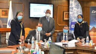 صورة شركة مصر للطيرانالسياحة والأسواق الحرة وشركةIBMتوقعان عقد تعاون مشترك لتطبيق حلول الحوسبة السحابية
