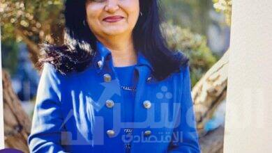 صورة نهى بكر تمثل لافارج مصر في مؤتمر إنترسيم الإفتراضى العالمي