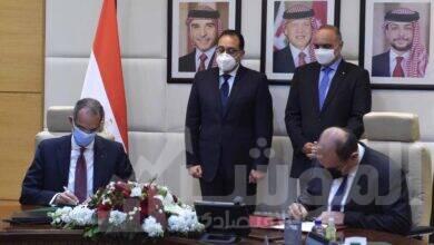 صورة توقيع مذكرة تفاهم بين مصر والاردن في مجال تكنولوجيا المعلومات والاتصالات