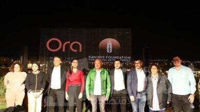 """صورة تعاون بين """"أورا ديفلوبرز"""" ومؤسسة ساويرس للتنمية الاجتماعية"""
