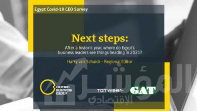 صورة مجموعة أكسفورد للأعمال تكشف نتائج استطلاع الرؤساء التنفيذيين حول جائحة كوفيد19 في مصر