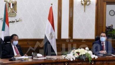 صورة مباحثات مصرية سودانية موسعة برئاسة رئيسي وزراء البلدين