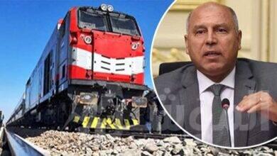 صورة وزير النقل:تم رصد 225 مليار جنيه لتطوير شبكة السكك الحديدية الحالية