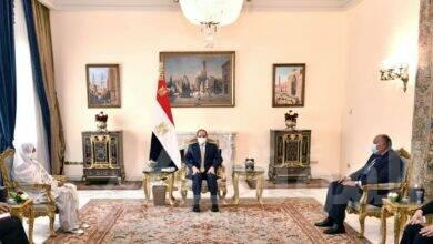صورة الرئيس يؤكد على النهج الاستراتيجي لمصر بدعم العلاقات مع السودان