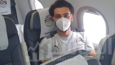 صورة مصر للطيران تسير رحلة خاصة لنقل المنتخب الوطني الأول لكرة القدم إلى كينيا