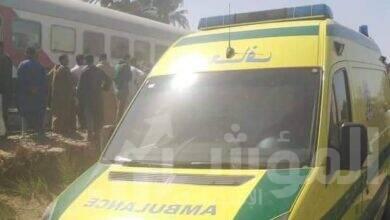 صورة الصحة: 91 مصابًا و 32 وفاة في حادث تصادم قطارين بسوهاج