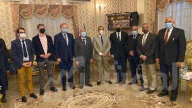 صورة سفير الاتحاد الأوروبى يزور مشروعات جهاز تنمية المشروعات بمحافظة المنيا