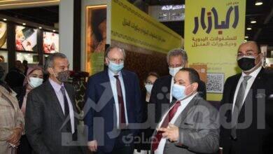 """صورة سفير الاتحاد الأوروبي يزور معرض """"البازار"""""""