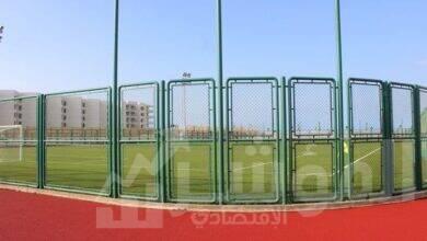 صورة أفتتاح نادي بورتوسعيد والإنتهاء من إنشاء 2500 وحدة