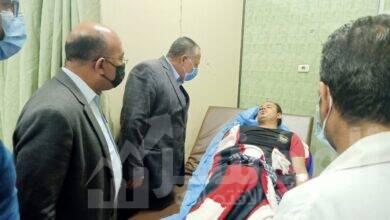 صورة محافظ أسيوط يوجه بتوفير أوجه الرعاية الصحية لمصابي حادث قطاري سوهاج بمستشفيات المحافظة