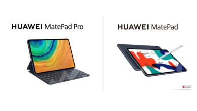 صورة أجهزة هواوي اللوحيةMatePadوMatePad Proتحقق رواجاً كبيراًفي السوق المصري