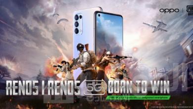 صورة اختيار سلسلة هواتف OPPO Reno5 الهاتف الذكي الرسمي لمنصة الرياضات الإلكترونية PUBG Esports