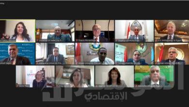 صورة إطلاق المنصة السنوية الافتراضية للتوظيف للجامعات المصرية بالتعاون مع الوكالة الأمريكية للتنمية الدولية والجامعة الأمريكية بالقاهرة