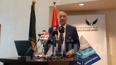 صورة تجديد تعيين المستشار عبد المعطى نائباً لرئيس هيئة الرقابة المالية
